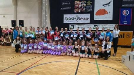 Blue Gym Aerobik siker a Makói Diákolimpián