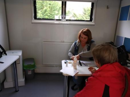 Egészségügyi szűrővizsgálat az EFOP pályázat keretében