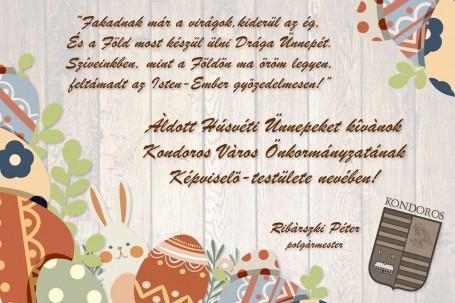 Áldott Húsvéti Ünnepet kívánok!
