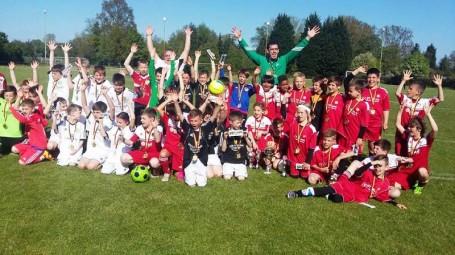 Ismételten részt vettek a kondorosi általános iskolások Hanhofeni focikupán