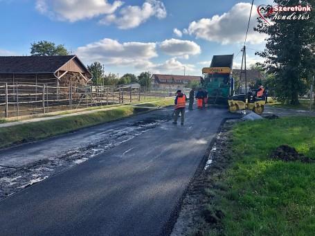 Megvalósult a Kölcsey Ferenc utca burkolatának részleges felújítása
