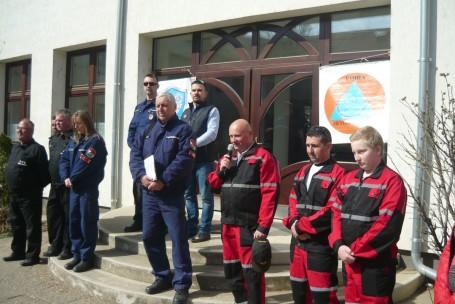 Katasztrófavédelmi együttműködési gyakorlat Kondoroson