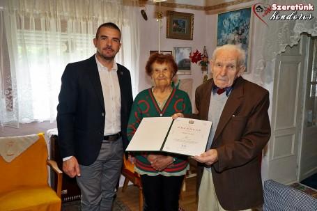 Miskó György szépkorú köszöntése