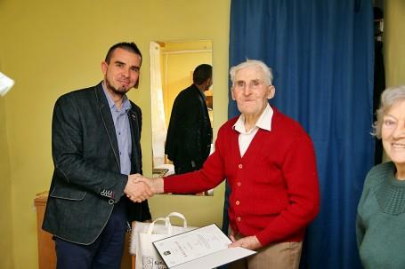 90. születésnapját ünnepelte Nagy Mihály kondorosi lakos