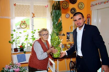95. születésnapját ünnepli Kondoroson Rábai Jánosné