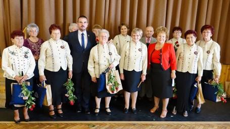 45. születésnapját ünnepelte a Kondorosi Rózsa Pávakör
