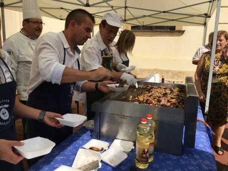 Az idei évben is ételkülönlegességet készítettünk a XIX. Szilvanapok keretében