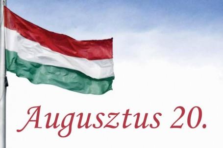Augusztus 20. –  Az államalapításra emlékezünk!