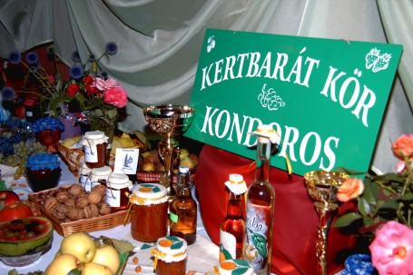 Kertbarát Körök Regionális Termékbemutatója Kondoroson