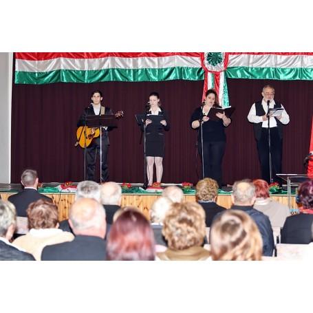 Március 15-ei ünnepség Kondoroson