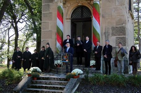 Október 6-ai megemlékezés és Apróvadas vadászati idényindítás a Batthyány – Geist Kastélykertben