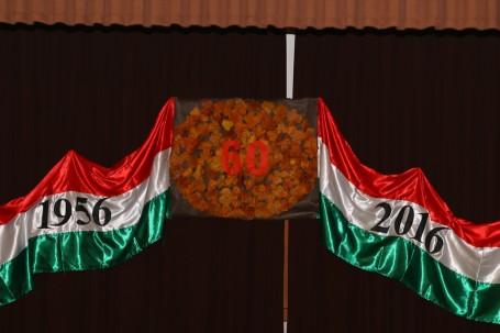 Megemlékezés az 1956-os forradalom 60. évfordulója alkalmából