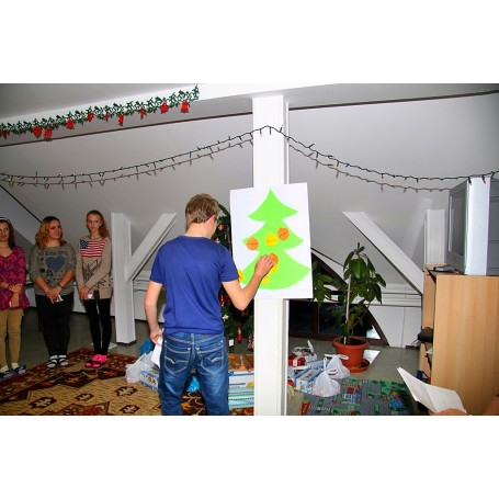Karácsonyi ünnepség a kollégiumban