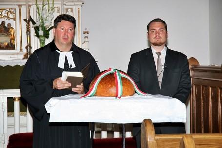 Szent István napi ünnepség és kenyérszentelés Kondoroson