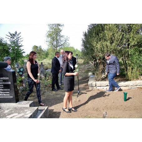 Történelmi megemlékezés Erdős-tarcsai Fejér Sándor sírjánál