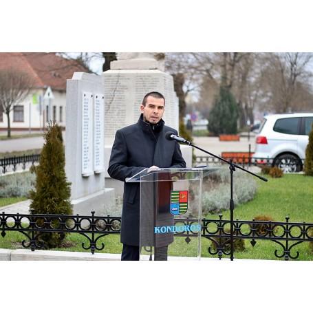 Városi megemlékezés a Doni Áttörés 75. évfordulóján