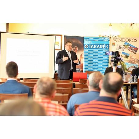 Vállalkozói fórum Kondoroson