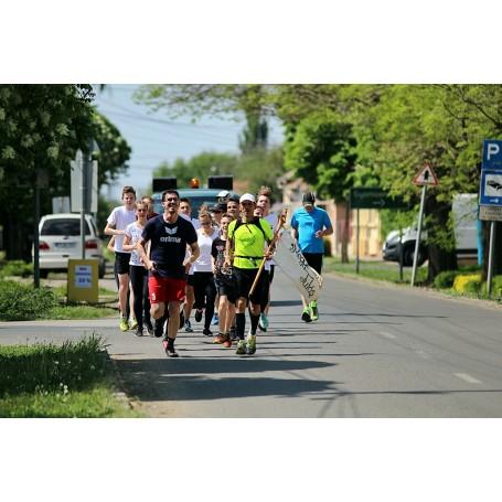 Ötödik alkalommal is Kondoroson köszönthettük Tóth László futónagykövetet