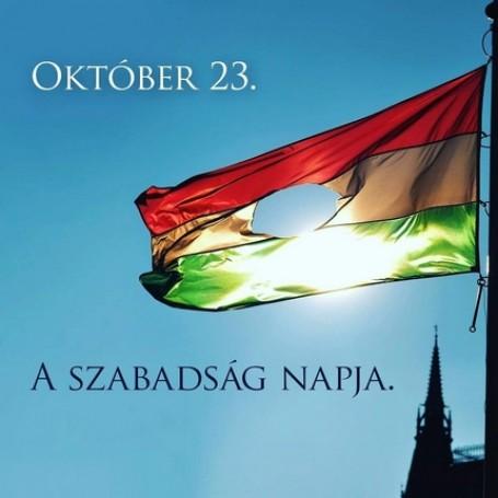 A Szabadság Napja – Városi ünnepségen emlékeztünk az 1956-os forradalom és szabadságharcra