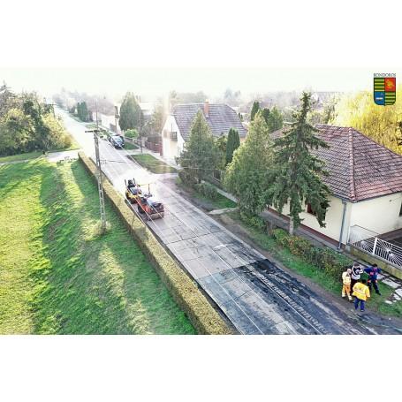 Folytatjuk az önkormányzati tulajdonú belterületi utak felújítását!