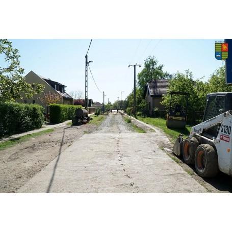 Az idei esztendőben is épülnek betonutak a városban