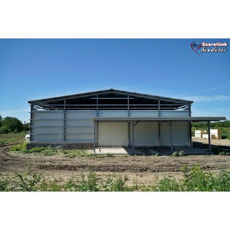 Képes beszámoló a hűtőház és piac építésének jelenlegi állásáról