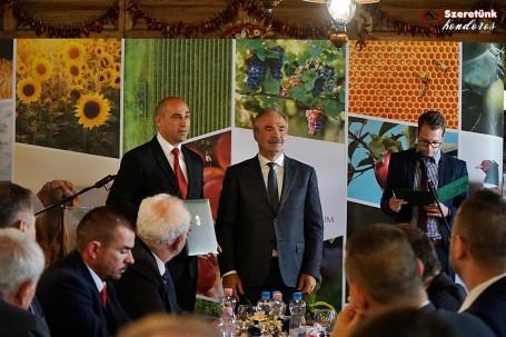 Agrárminiszteri látogatás Kondoroson
