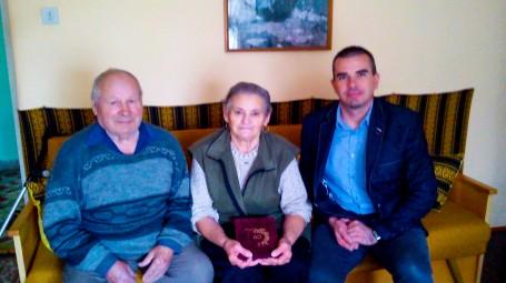 Markos János - Polonszki Anna 60. házassági évfordulója